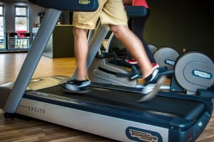 Get your cardio on a treadmill, elliptical, or rowing machine - or get a special stand that turns a regular bike into a stationary bike with the twist of a couple of screws.