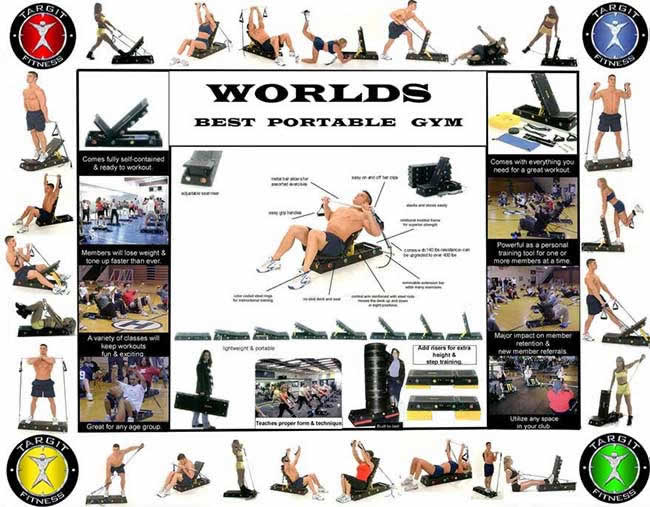 The big picture of the world's best portable gym